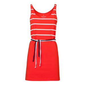 ThokkThokk Lines Tank Top Dress Poppy - THOKKTHOKK