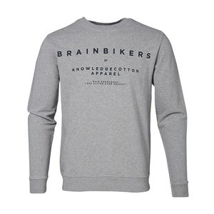 Sweatshirt BrainBikers - Grau - KnowledgeCotton Apparel