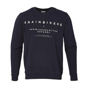 Sweatshirt BrainBikers - Total Eclipse - KnowledgeCotton Apparel