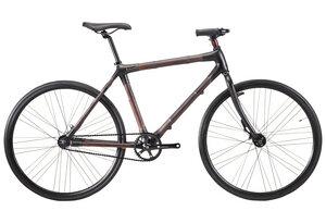 Phoenix Black Bambus Fahrrad - Bamboobee