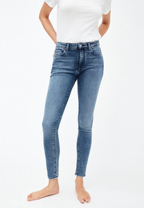 TILLAA - Damen Skinny Fit Mid Waist - ARMEDANGELS