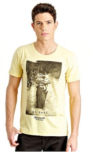 "Organic T-Shirt ""Querido Mi Papa"" - Misericordia"