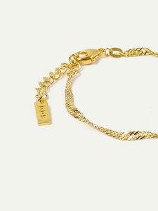 Armband Stella | Singapurkette in Gold und Silber | 15cm + 3cm Länge - DEAR DARLING BERLIN