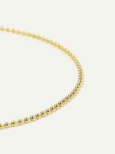 Choker Halskette Luise | Kugelkette in Gold und Silber | 35cm - DEAR DARLING BERLIN