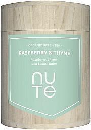 NUTE - Bio grüner Tee - Raspberry & Thyme 100g - NuTe