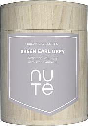 NUTE - Bio Grüner Tee - Earl Grey  - NuTe