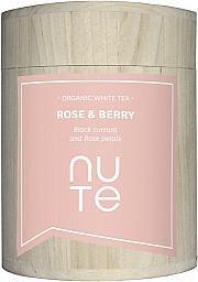 NUTE - Bio Weißer Tee - Rose & Berry  - NuTe