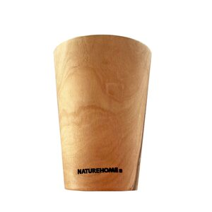 NATUREHOME Trinkbecher Olivenholz - NATUREHOME