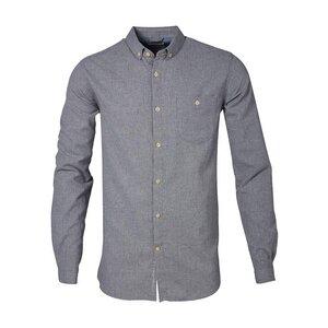 Flanel Shirt - Grau - KnowledgeCotton Apparel
