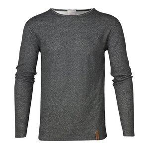 Langarmshirt - Double Layer Long Sleeve Tee - grau - KnowledgeCotton Apparel
