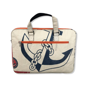 Laptoptasche CR13 recycelter Zementsack - Beadbags