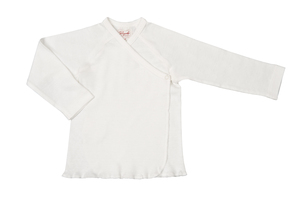 Flügelhemd weiß - People Wear Organic