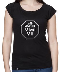 Bambus Shirt Women Black 'MIMIMI' - SILBERFISCHER