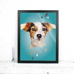 Jack Russel Hund, Fine Art Print - Printe