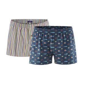 Boxer-Shorts, 2er Pack - Living Crafts