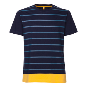 ThokkThokk Lines T-Shirt Man Midnight - THOKKTHOKK
