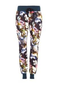Jogging Hose mit Blumenprint - Mandala