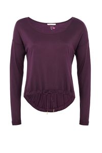 Dance Sweater Langarmshirt - Pflaume - Mandala