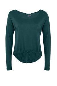Dance Sweater Langarmshirt - Petrol - Mandala