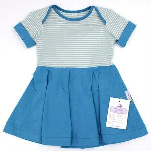 "Kinder Kleid ""Stella"" - Kurzarm - CHARLE - sustainable kids fashion"