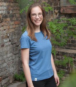 päfjes Basics - Frauen T-Shirt fair gehandelt aus Baumwolle (bio) Slub - päfjes