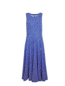 Sommerkleid mit Blumenprint ohne Arme - Isa - MINU