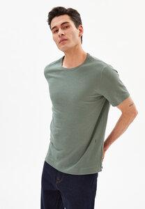 AANTONIO LINEN - Herren T-Shirt aus Bio-Baumwoll-Leinen Mix - ARMEDANGELS