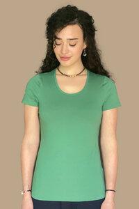 """Damen T-Shirt aus Bio-Baumwolle, Modell """"Lola"""" - M23"""