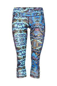 Athletic Pant - Yoga Hose mit graphischem Print - Mandala