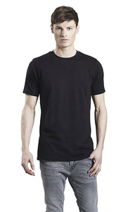 3er Pack Men's Organic Stretch T-Shirt - Continental Clothing