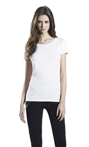 3er Pack Women's Organic Stretch T-Shirt - Continental Clothing