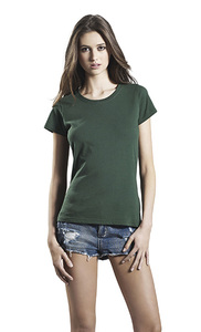 Women's Organic Vintage Washed T-Shirt - Continental Clothing