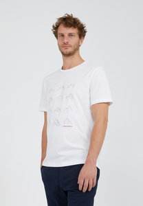 JAAMES MANY MOUNTAINS - Herren T-Shirt aus Bio-Baumwolle - ARMEDANGELS