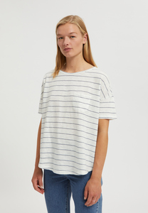 MELINAA STRIPES - Damen T-Shirt aus Bio-Baumwolle-Kapok Mix - ARMEDANGELS