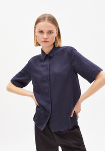 AAGAT - Damen Bluse aus TENCEL Lyocell-Leinen Mix - ARMEDANGELS