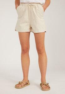 XULIAA UNDYED - Damen Shorts aus Bio-Baumwoll-Leinen Mix - ARMEDANGELS