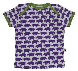 T-Shirt mit Nilpferden - loud + proud