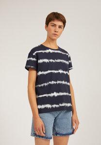 NAALINA BATIK STRIPE - Damen T-Shirt aus Bio-Baumwolle - ARMEDANGELS