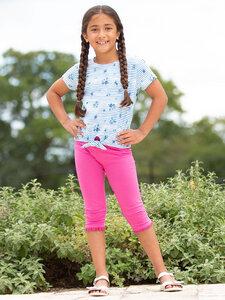 Kinder T-Shirt Stripy Ditsy Bio-Baumwolle - Kite Clothing