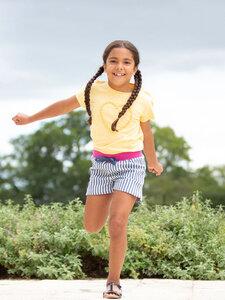 Kinder Ticking Shorts Streifen reine Bio-Baumwolle - Kite Clothing