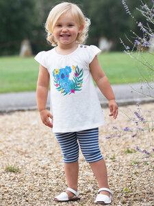 Kinder 3/4 Leggings Stripy Bio-Baumwolle - Kite Clothing