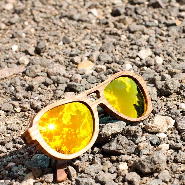 Coromandel Kapakapa - Sonnenbrille aus Zebraholz 2pViqVuBF