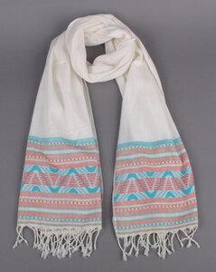 Handgewebter Schal aus Baumwolle - El Puente