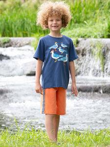 Kinder Shorts Side Stripe reine Bio-Baumwolle - Kite Clothing