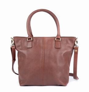 Damen-Handtasche aus pflanzlich gegerbtem Rindsleder - El Puente