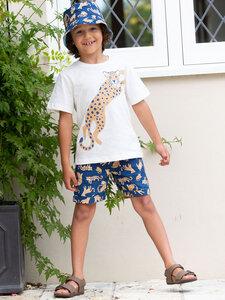 Baby und Kinder T-Shirt Big Cat reine Bio-Baumwolle - Kite Clothing