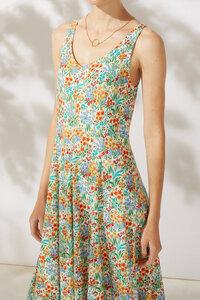 Trägerkleid mit Blumenprint - Jule - ROSALIE