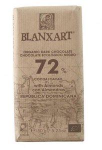 Dunkle Schokolade mit Mandeln 72% - Blanxart - 150 g - Blanxart