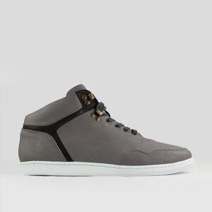 high seed / graues glattleder / weiße sohle - ekn footwear