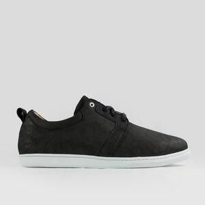 birch / schwarzes geöltes glattleder / weiße sohle - ekn footwear